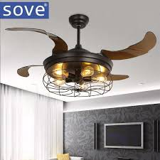 Light Bulbs For Ceiling Fans 2017 42 Inch Edison Light Bulb Village Folding Ceiling Fans With