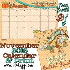 november 2015 calendar is available at inkhappi inkhappi