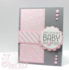 saturdays with stampin up baby shower invitation part 3 cards