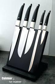 couteau cuisine professionnel couteaux cuisine professionnel ensemble couteau de cuisine bloc 5