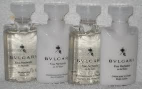 bulgari au the blanc white tea shoo conditioner shower gel