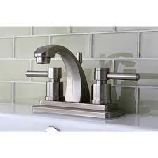 Satin Nickel Bathroom Faucets by Concord 4 Inch Satin Nickel Centerset Bathroom Faucet Free
