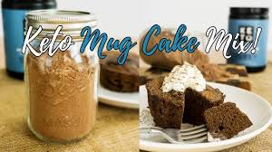 keto microwave mug cake mix make ahead mix for low carb cakes