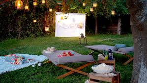 Backyard Projector Diy Backyard Theater Diy Project
