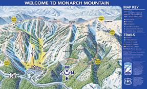 Colorado Ski Map by Overview Of Monarch Mountain Colorado Snowpak