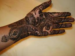 simple mehndi designs for left hand palm fashionlite