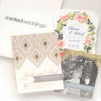 free wedding sles by mail free minted wedding sle kit freebies and free sles by mail