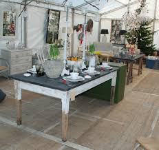 rustic painted dining tables
