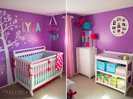 Baby Girl Room Ideas Pink And Purple House Design Ideas - Girls purple bedroom ideas