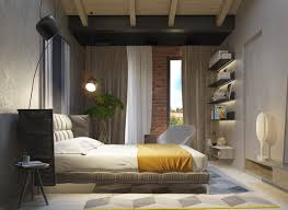 Bedroom Wall Ideas There Are A Million And One Ways To Use Concrete But Interior