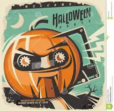 halloween tape halloween retro invitation concept stock vector image 59477931