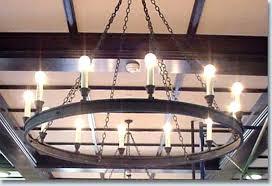 wagon wheel ceiling fan light wagon wheel light fixture lindas club