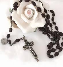 italian rosary italian rosary antique holy t t trappisti tre fontane