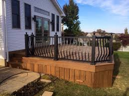 unfinished ipe backyard deck in york pa stump u0027s decks u0026 porches
