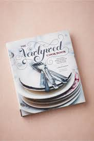 the newlywed cookbook in décor bhldn