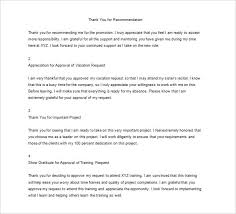 20 thank you letter to boss templates u2013 free sample example