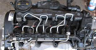 audi a3 2 0 tdi problems fuel injector and valve cover removal cjaa cbea 2 0 tdi engine