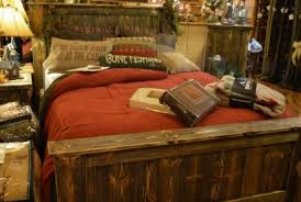 Barn Wood Bedroom Furniture High Quality Rustic Decor Cabin Creations Phillips Wi