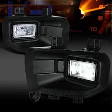 2015 f150 led fog lights 2015 2017 ford f150 3 piece clear led fog lights kit