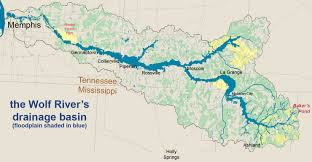 Map Of Memphis Tennessee by File Wolf Watershed Annt Jpg Wikimedia Commons