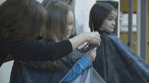elementary students donate hair to charity wane