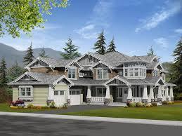luxury craftsman style home plans prairie style house plans luxury house design plans
