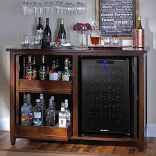 free standing bar cabinet authentic home bar refrigerator furniture with fridge wine and