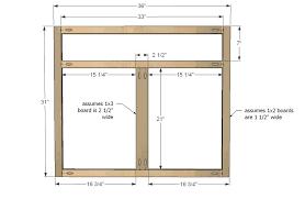 full overlay face frame cabinets ana white kitchen cabinet sink base 36 full overlay face frame