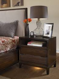 nightstand splendid befitting nightstand in walnut and one