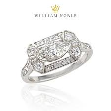 estate engagement rings vintage estate engagement rings william noble