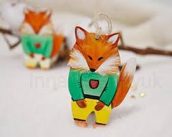 fox ornaments beneconnoi