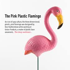 pink flamingo lawn ornaments the pink plastic flamingo freedom s way national heritage area