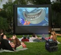 Backyard Screens Outdoor by Downs Party Rental Outdoor Movie Screen