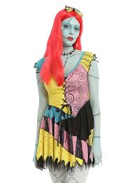 Sally Halloween Costumes Nightmare Christmas Sally Cosplay Dress Topic