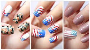 12 cute 4th of july nail designs 15 cute simple 4th of july nail