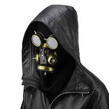 gas mask costume aliexpress buy style mask gold men women