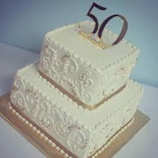50th anniversary cake ideas wedding cakes 50th wedding anniversary cakes square the wedding