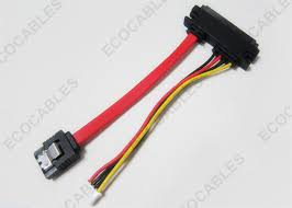 laptop 4pin 7pin 22pin red sata cable to 4pin xhp wiring harness