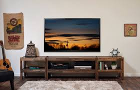 tv stands awesome weathered tv stand 2017 design better homes and