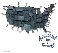 state shaped gifts state shaped cast iron skillets by alisa toninato are and