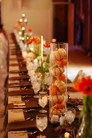Fall Wedding Table Decor Cool Fall Wedding Centerpiece Ideas Do It Yourself 45 For Your