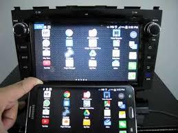 mirror link android honda crv 8 avin avant2 mirrorlink android navigation system