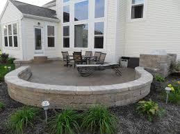 Concrete Patio With Pavers Atlantis Concrete And Construction Llc Photo Gallery