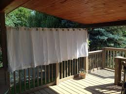 Curtains For Pergola Curtains Curtains Outdoor Deck Privacy Curtain Grommet From Ikea