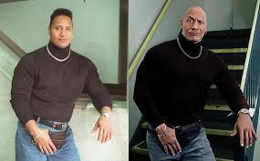 The Rock Meme - the rock reenacts famous meme glitter magazine