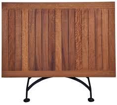 Rectangular Bistro Table 19th Century Reproduction Bistro Cafe Rectangular Teak