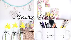 Room Decor Inspiration Diy Spring Room Decor Inspiration Youtube