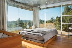 5 glass prefabs dwell clearlake house interior bedroom loversiq