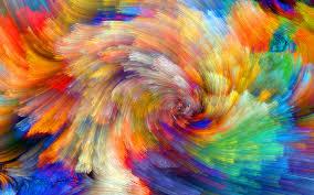 wallpaper 4k color wallpaper vibrant colorful bloom fractals textures 5k abstract