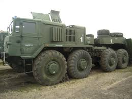 maz car military technics maz 537 g semitrailer